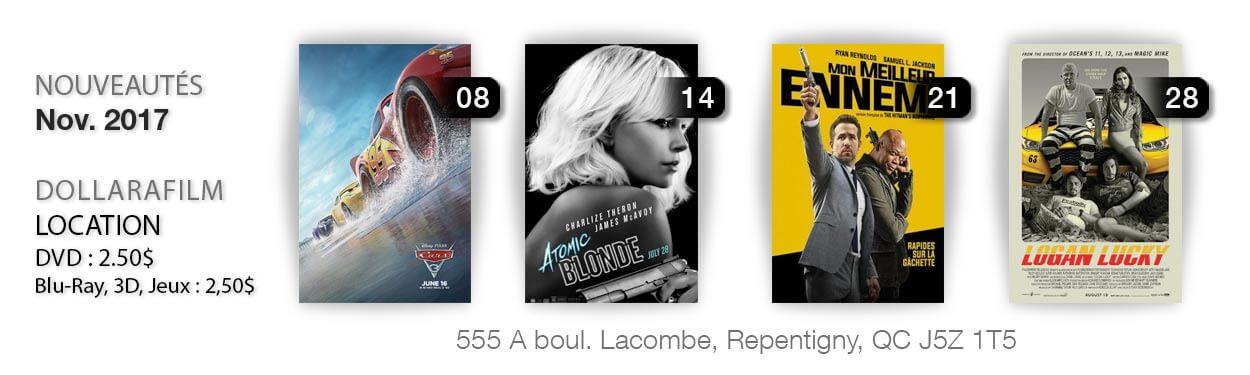 Location de films à Repentigny, Le Gardeur